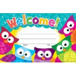 Welcome Owl Stars Recognition Awards