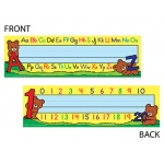 Alphabet & Numbers 36pk Tented Name Plates 7 X 11