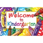 Welcome To Kindergarten 30/pk Postcards