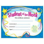 Certificate Student Of The 30/pk Week 8-1/2 X 11