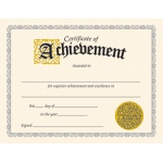Certificate Of Achievement 30/pk Classic 8-1/2 X 11