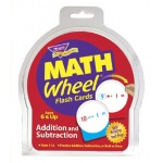 Math Wheel Flash Cards 12/pk Addition & Subtraction
