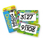 Pocket Flash Cards Division 56-Pk 3 X 5 Two-Sided Cards