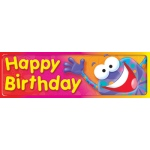 Happy Birthday Frog-Tastic Bookmarks