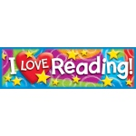 I Love Reading Stars N Swirls Bookmarks