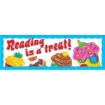 Reading Is A Treat Bake Shop Bookmarks