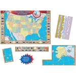 Us Map Bb Set 36x24