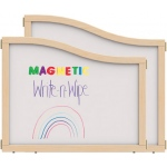 "Jonti-Craft KYDZ Suite® Cascade Panel: Magnetic Write-N-Wipe, E Down to T Height, 36"" Wide"