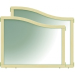 "Jonti-Craft KYDZ Suite® Cascade Panel: Mirror, E down to T Height, 36"" Wide"