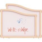 "Jonti-Craft KYDZ Suite® Cascade Panel: Write-N-Wipe, E Down to T Height, 36"" Wide"