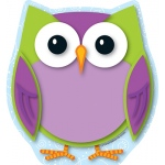 Colorful Owl Note Pad