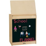 Jonti-Craft ThriftyKYDZ® Big Book Easels: Flannel