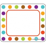 Calypso Name Tags Bold Polka Dots