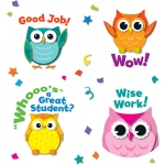 Colorful Owl Motivators