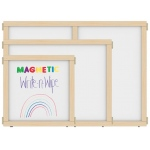 "Jonti-Craft KYDZ Suite® Panel: Magnetic Write-N-Wipe, A-Height, 24"" Wide"