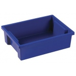 ECR4Kids Small Storage Bins: Blue