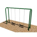 SportsPlay 3.5'' OD Arch Post Swing: 2 Seats - Playground Swing Set