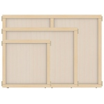 "Jonti-Craft KYDZ Suite® Panel: Plywood, T-Height, 24"" Wide"