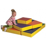 ECR4Kids SoftZone: Tri-Level Climber