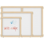 "Jonti-Craft KYDZ Suite® Panel: Write-N-Wipe, T-Height, 24"" Wide"