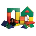 ECR4Kids SoftZone: Jumbo Soft Blocks, 21 Pices