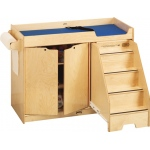 Jonti-Craft Changing Table with Stairs: Right