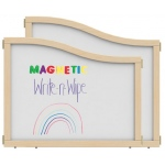 "Jonti-Craft KYDZ Suite® Cascade Panel: Magnetic Write-N-Wipe, E up to A Height, 36"" Wide"