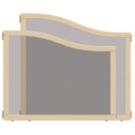 "Jonti-Craft KYDZ Suite® Cascade Panel: See-Thru, E up to A Height, 36"" Wide"