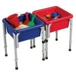 ECR4Kids 2 Station Sand and Water Table