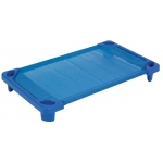 ECR4Kids Streamline Cot Toddler: Ready to Assemble, Blue