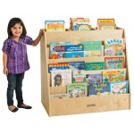 ECR4Kids Display and Store: Mobile Book Cart