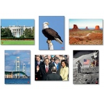 Historical America Language Cards Set Of 34