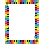 Colorful Keyboard Paper