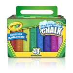Crayola Washable Sidewalk Chalk 48 Ct