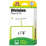 Flashcard Set Division Facts To 9s