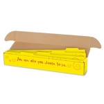 Sentence Strip Storage Box With Dividers 3 X 3 X 26