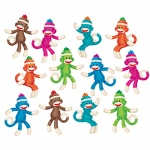 Sock Monkeys Solids Accents Variety Pack