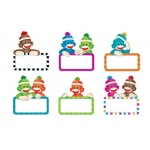 Sock Monkey Signs Accents Variety Pack