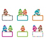 Sock Monkeys Signs Mini Accents Variety Pack