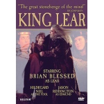King Lear, Shakespeare, The Film Starring Brian Blessed - DVD