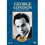 George London in Opera and Song, Voice of Firestone - DVD