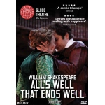 All's Well That Ends Well, Shakespeare Globe Theatre - DVD