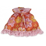 Baby Doll Clothes Orange Floral Dress