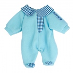 Baby Doll Clothes Blue Pajamas