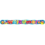 Welcome Owl Stars Quotable 10ft Expressions Banner Horizontal