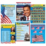 Us Presidents Learning Charts Combo Pack