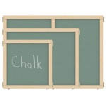 "Jonti-Craft KYDZ Suite® Panel: Chalkboard, E-Height, 24"" Wide"
