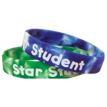 Fancy Star Student Wristbands 10/pk