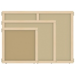 "Jonti-Craft KYDZ Suite® Panel: Hardboard, A-Height, 36"" Wide"