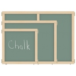 "Jonti-Craft KYDZ Suite® Panel: Chalkboard, A-Height, 36"" Wide"